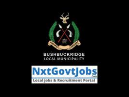 Bushbuckridge Local Municipality vacancies 2021 | Ehlanzeni Government jobs | Mpumalanga Municipality vacancies