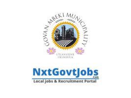 Govan Mbeki Local Municipality vacancies 2021   Gert Sibande Government jobs   Mpumalanga Municipality vacancies