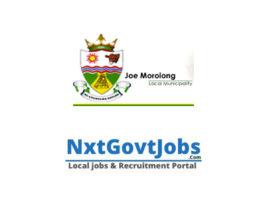 Joe Morolong Local Municipality vacancies 2021 | John Taolo Gaetsewe Government jobs | Northern Cape Municipality vacancies
