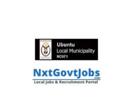 Ubuntu Local Municipality vacancies 2021 | Pixley ka Seme Government jobs | Northern Cape Municipality vacancies