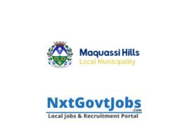 Maquassi Hills Local Municipality vacancies 2021   Dr Kenneth Kaunda Government jobs   North West Municipality vacancies