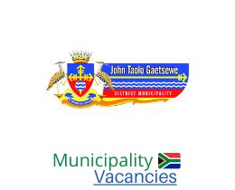 John Taolo Gaetsewe District municipality vacancies 2021   John Taolo Gaetsewe District vacancies   Northern Cape Municipality