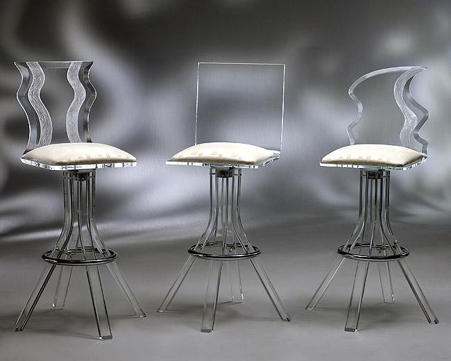 Etonnant Home/Acrylic Bar Stools/DM ...