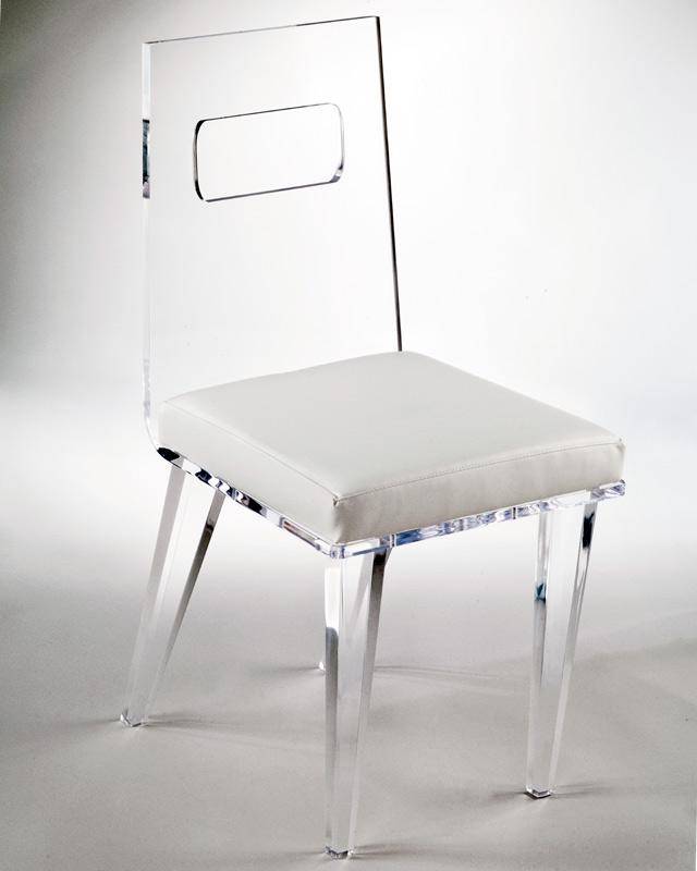 Superieur Ashley Acrylic Chair