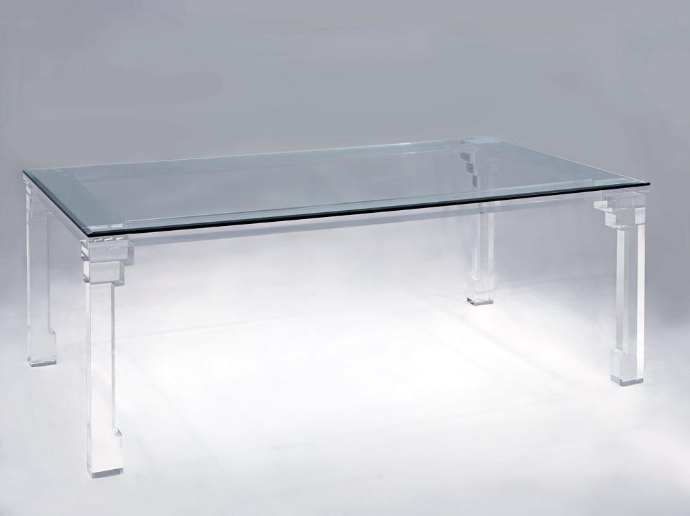 Shanghai Acrylic Dining Table Muniz Plastics