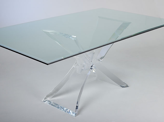 Ordinaire Acrylic Dining Table Butterfly. Read More