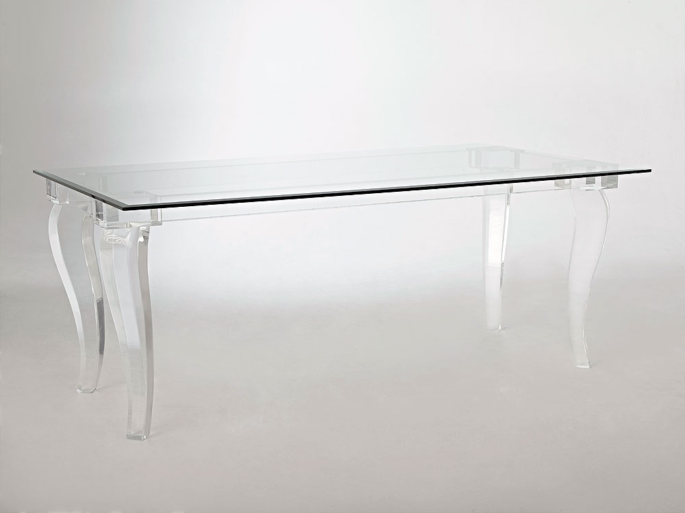 Valencia Acrylic Dining Table