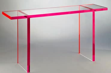 Acrylic Console Tables