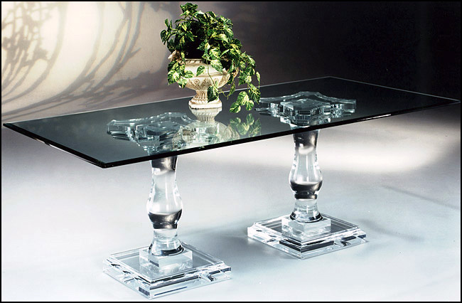 Acrylic Kitchen Table Acrylic dining sets acrylic furniture tables chairs hand made acrylic dining table corintian workwithnaturefo