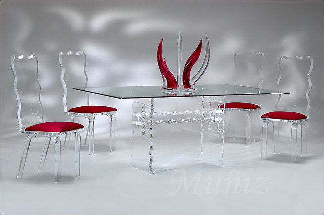 Beau Crystal Dining / Crystal Chair