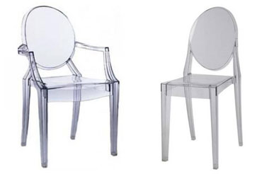 Charming Acrylic Ghost Chairs