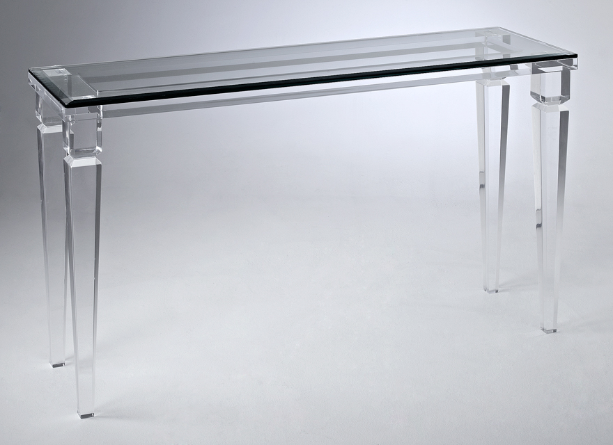 Andora Acrylic Console Table