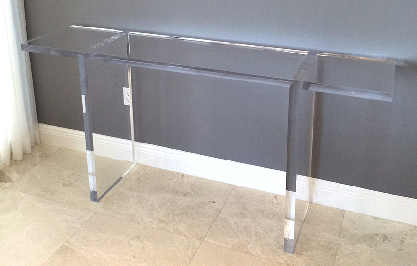megan acrylic console acrylic furniture tables chairs