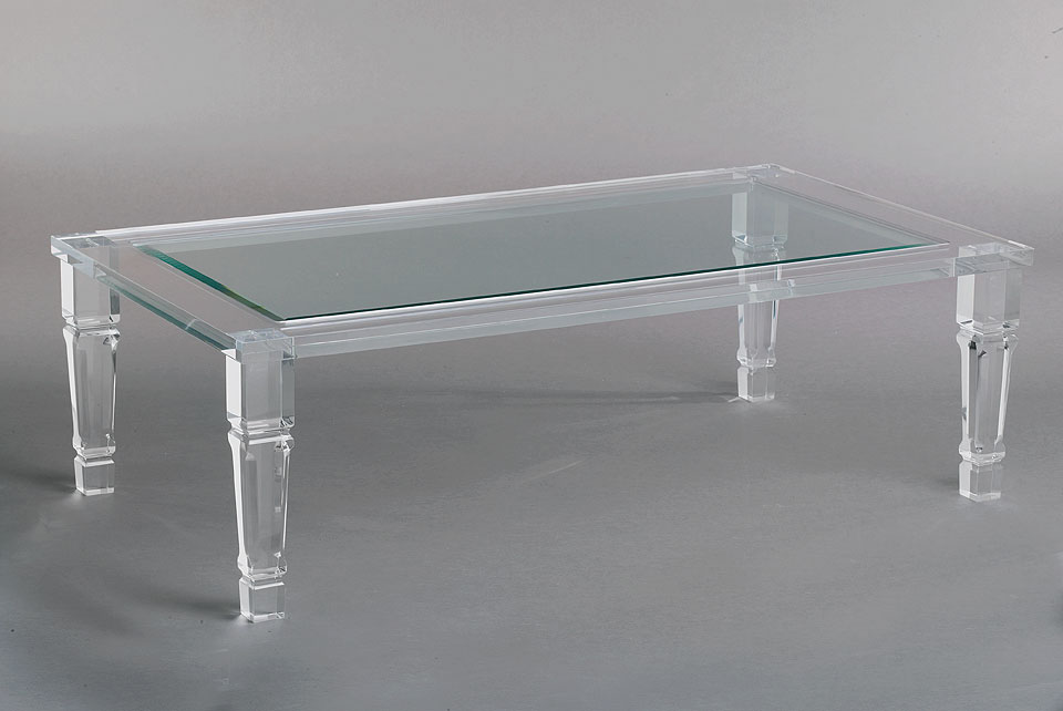 Charmant Acrylic Tables California