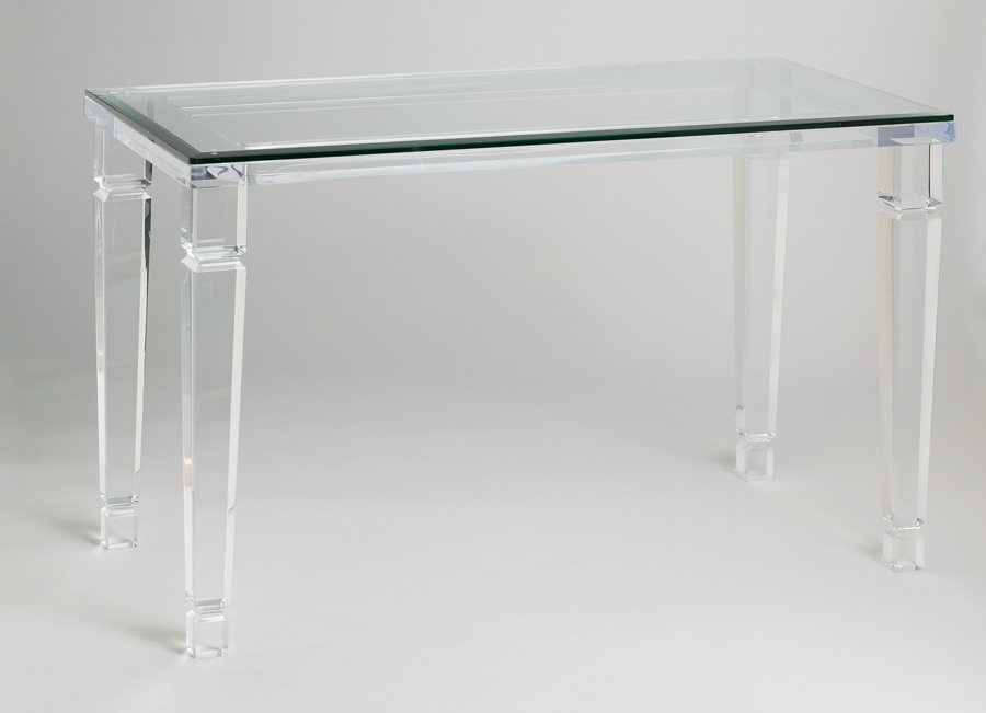 Philipe Acrylic Console Table