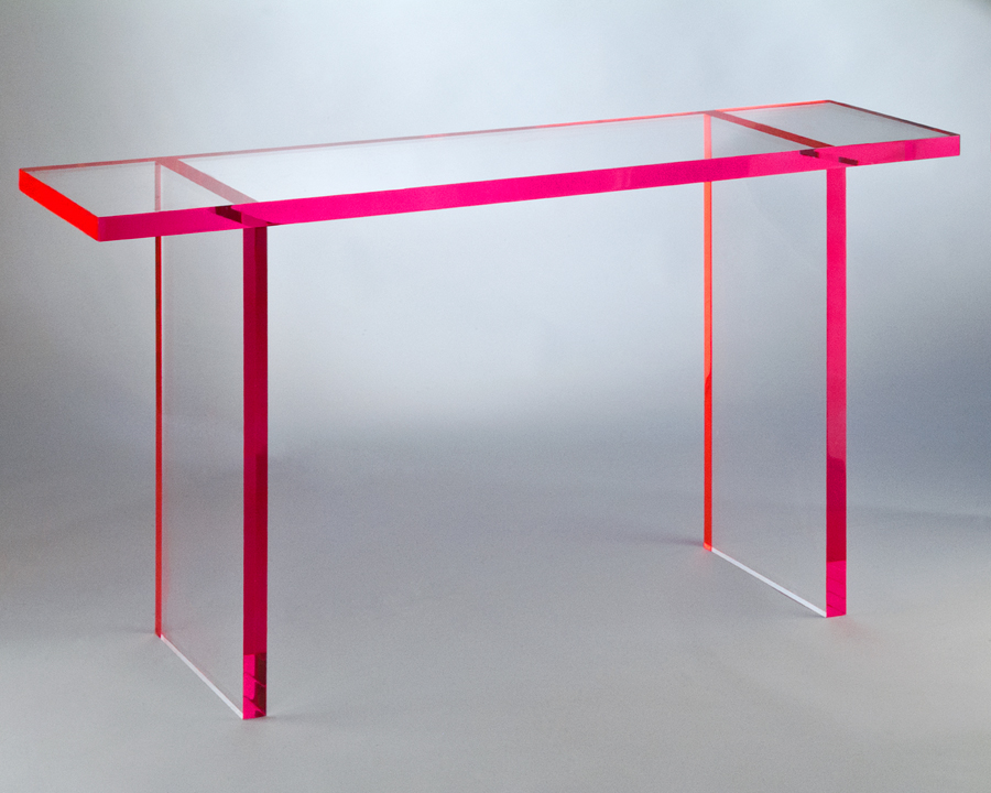 Chloe Acrylic Console Table