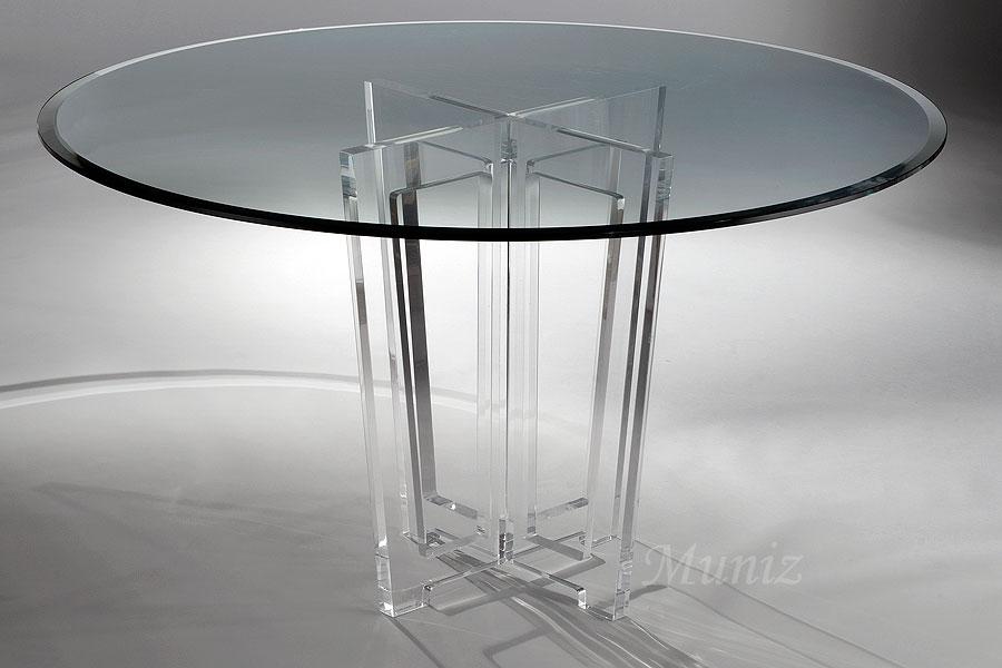 Victoria Acrylic Dining Table & Victoria Acrylic Dining Table u2013 Acrylic Furniture Tables Chairs ...