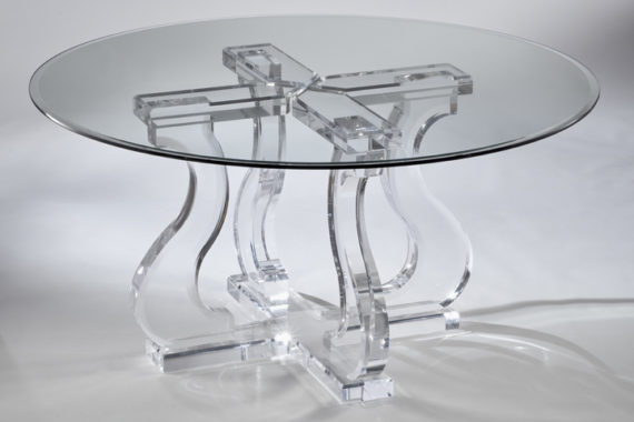 Charmant Acrylic Dining Sets