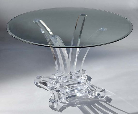 Madison Acrylic Dining Table