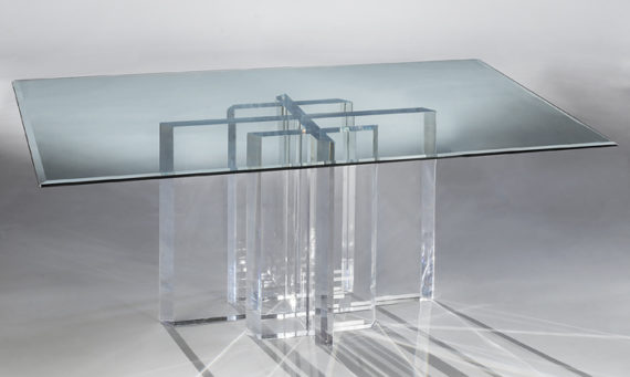 Munich Acrylic Dining Table