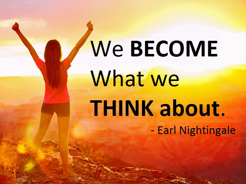 Image result for we become what we think about