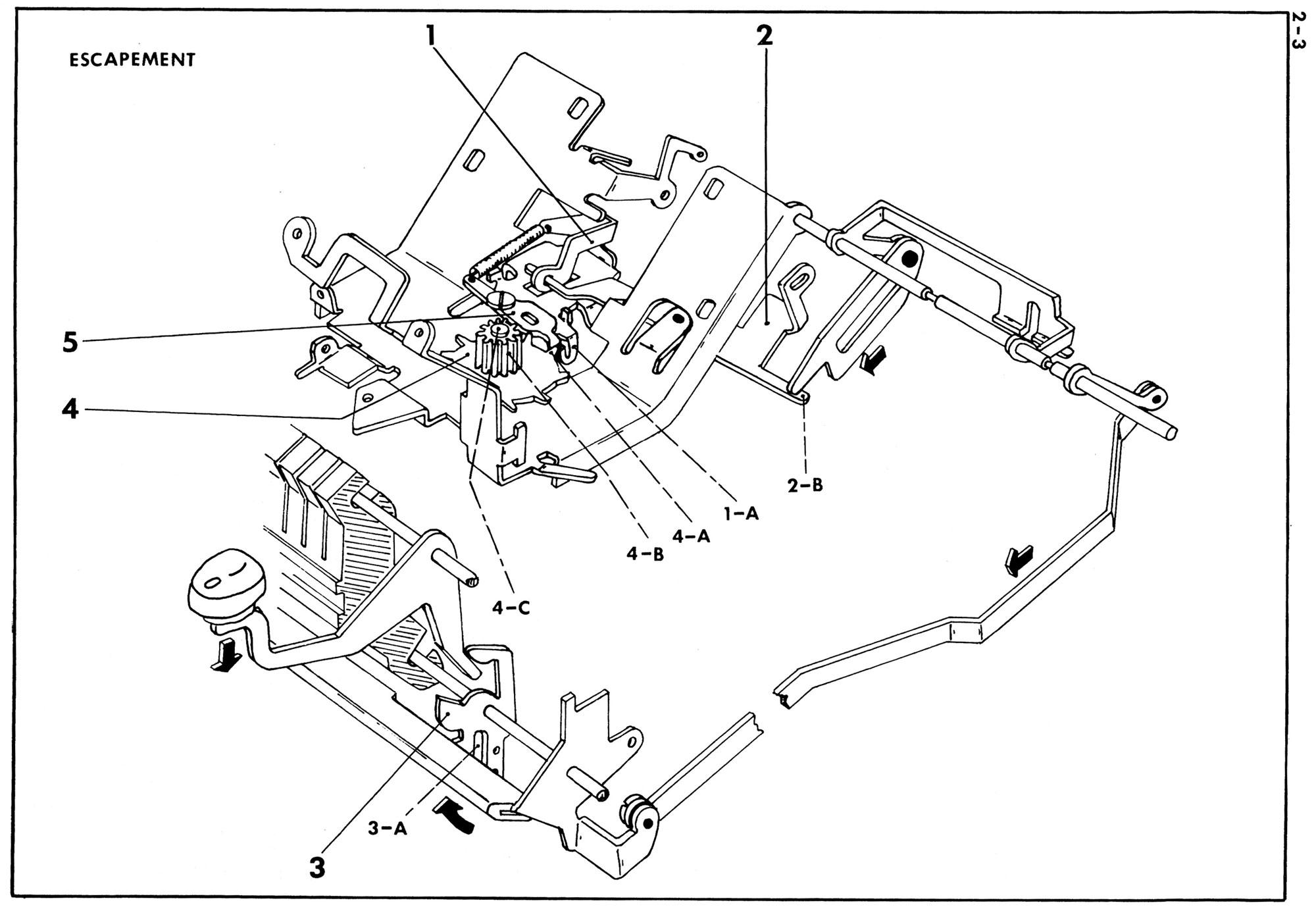 Adjusting Escapement Trip on Smith-Corona Skyriter