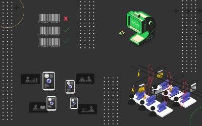 5 tipos de control de piso para plantas de producción
