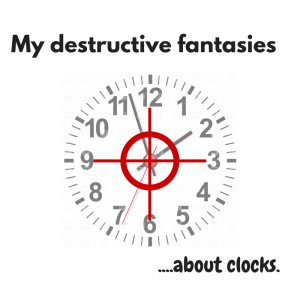 What I want to do with the clocks in my house.