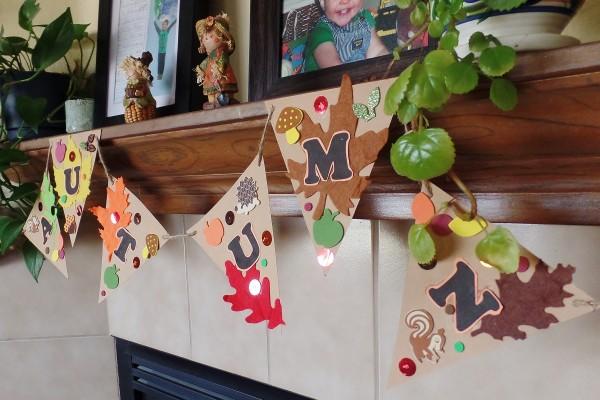 fall banner craft