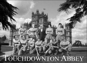 Football Downton Abbey meme