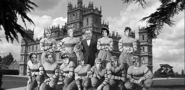 Football Downton Abbey meme
