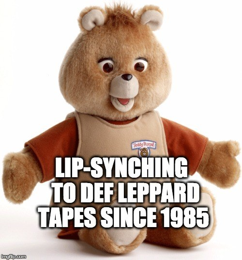 Teddy Ruxpin lip synch