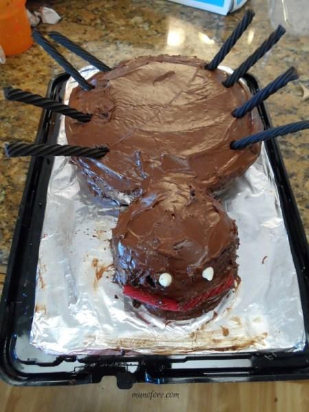 ugly cake - spider