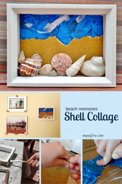Beach Shell Collage