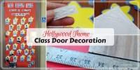 Hollywood Themed Classroom Door Decoration - Munofore