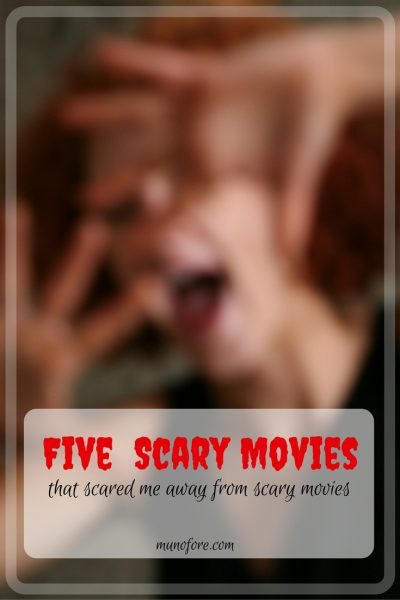 Five Scary Movies that Scared Me Away from Scary Movies - five psychological thrillers that scared me into not watching scary movies.