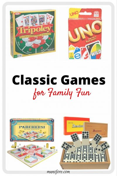 Old School Board Games are still great entertainment for the family. 8 choices for young and old. Classic Board Games. Family Game Night.