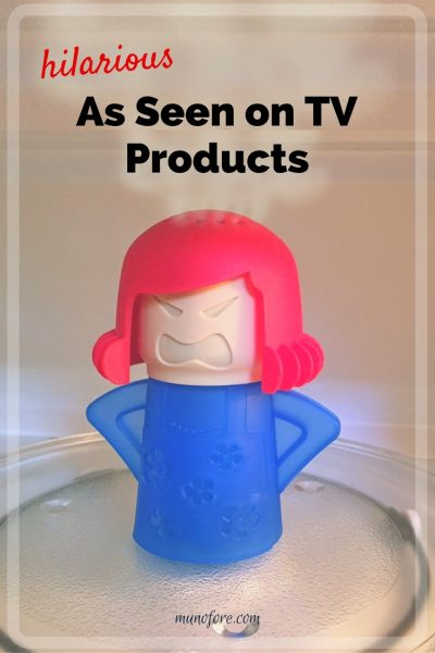 As Seen On TV Products. Those wonderful little gadgets you didn't know you needed until you saw a commercial for them.