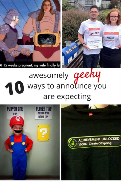 814b695d40e86 Geeky ways to announce you are expecting. Humorous and geeky ways to  announce your pregnancy