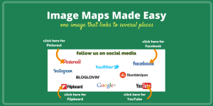 How to Create an Image Map for free. The easy way to create an image that links to multiple places.