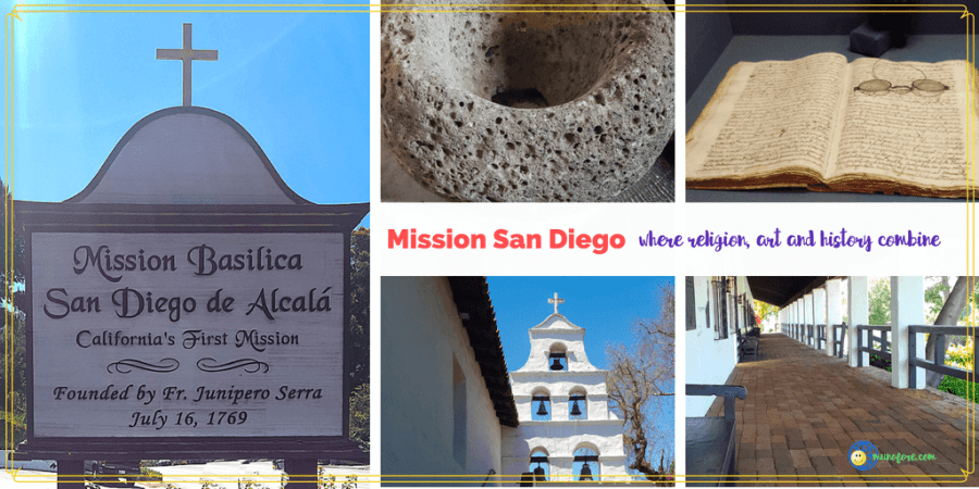 collage mission san diego