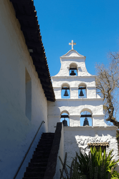 mission san diego bell tower