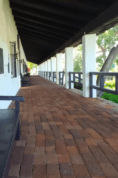 mission san diego portico