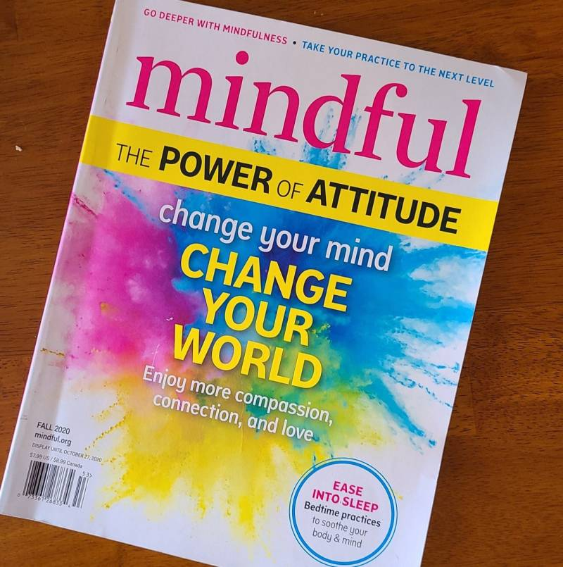 cover of mindful magazine