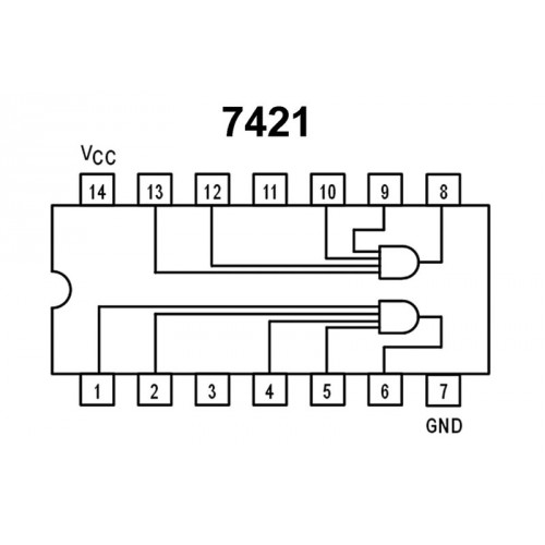 Logic IC 7421