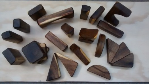 handmade mesquite wood blocks