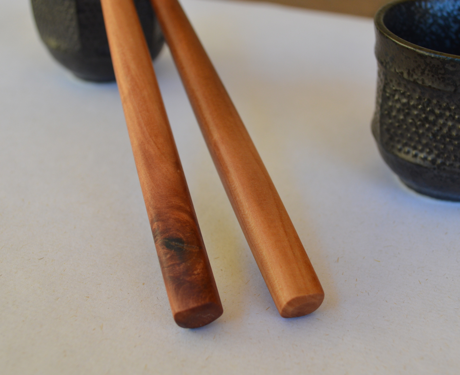 Chopsticks, in mesquite and mulberry – MunroCraft