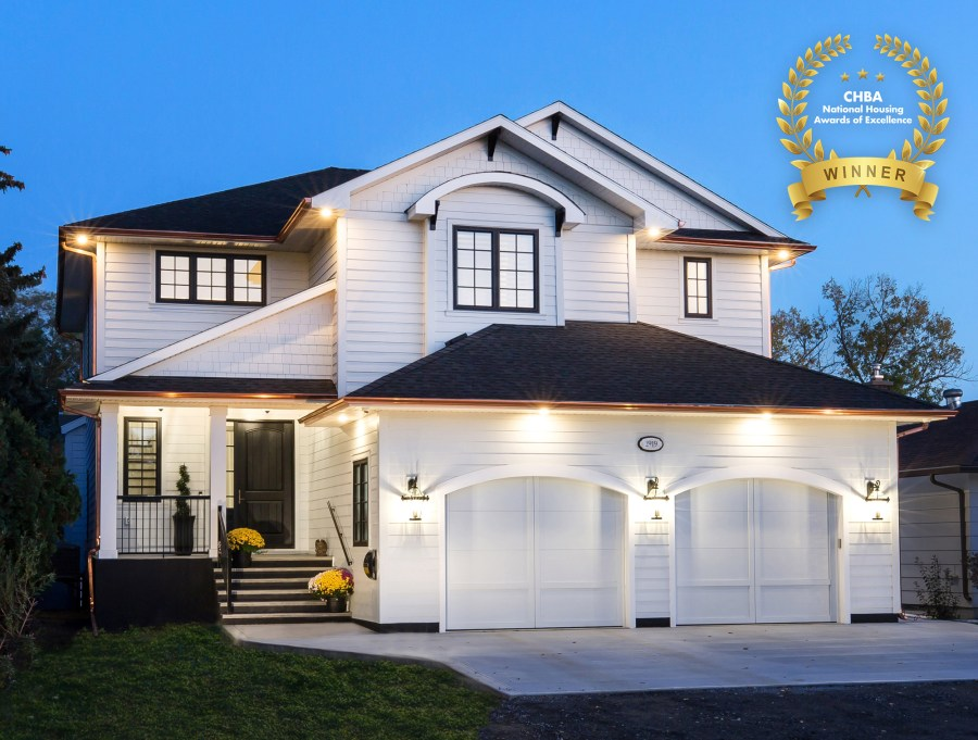 Munro Homes is a double winner of the 2020 Canadian Home Builders' Association (CHBA) National Awards for Housing Excellence