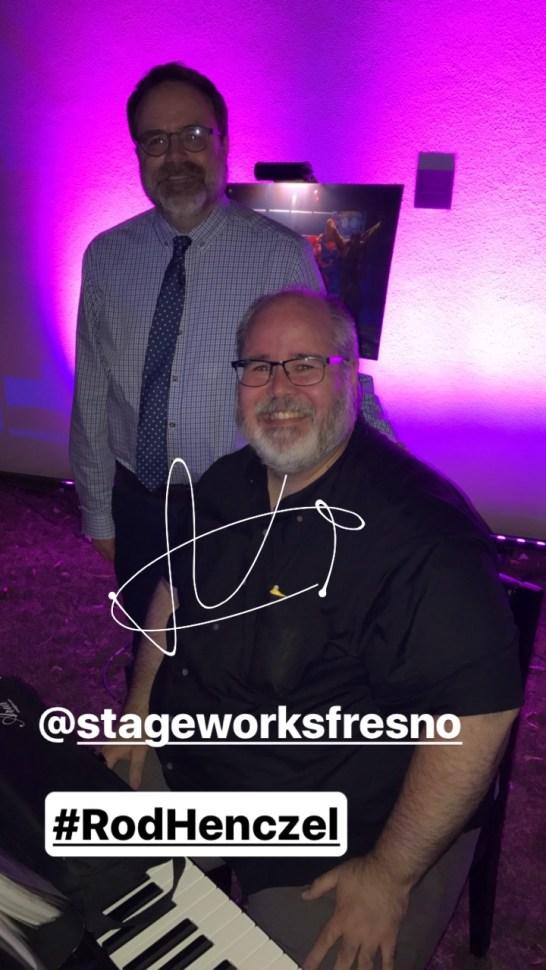 Rod Henczel   StageWorks Fresno   Theatre Under the Stars   Photo / MunroReview.com