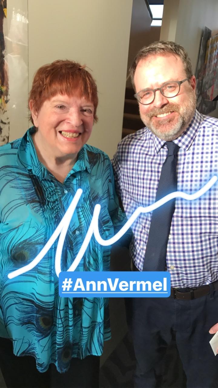 Summer Arts kickoff party: Ann Vermel.